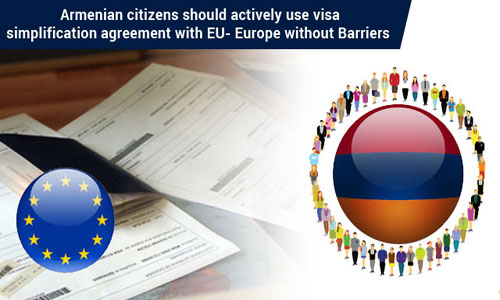 Armenian citizens benefits from visa
