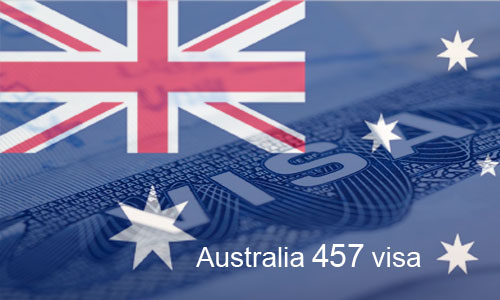 Number of Australia's 457 temporary visa grants have fallen