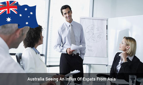 Australia experience growth in Asian immigrants