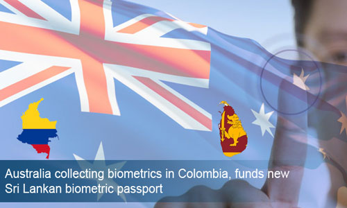Australia collects biometrics for all visa applications in Colombia