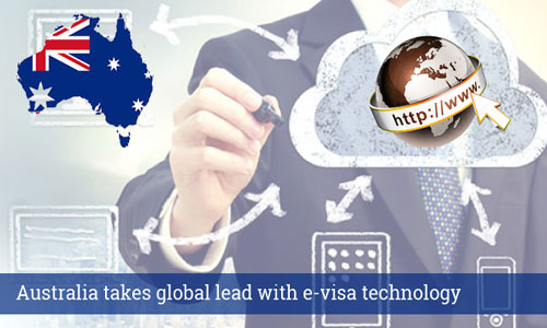 Australia leads the world with e-visa technology