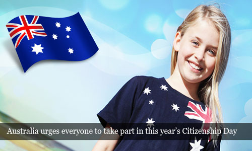 Australia calls everyone to chip in Citizenship Day ceremonies