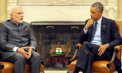 Barack Obama guaranteed Narendra Modi on issues over H-1B visa