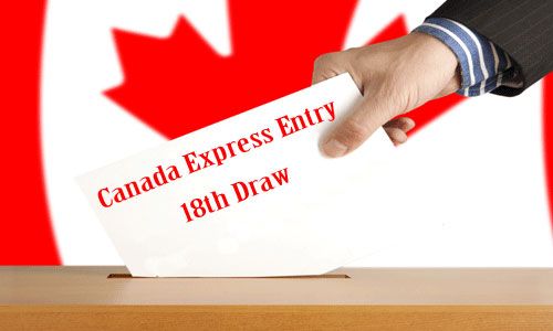CIC announced the draw for Express Entry System 18th Draw