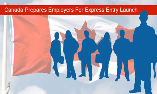 Government of Canada plans for Express Entry launch