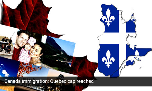 Quebec Skilled Worker's Program reaches cap