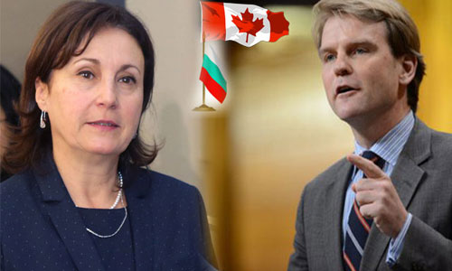 Bilateral visa free regime between Canada and Bulgaria