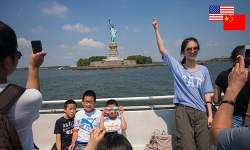 Chinese immigration to the United States represents the largest among all the countries