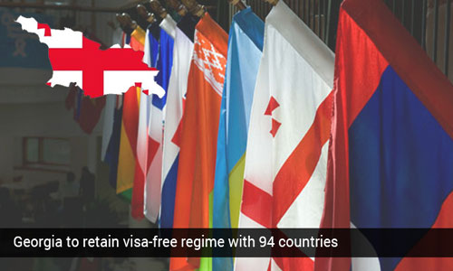Georgia to keep hold on visa-free regime with 94 nations