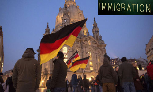 Germany saw a pointed surge in foreigners' arrival in 2014