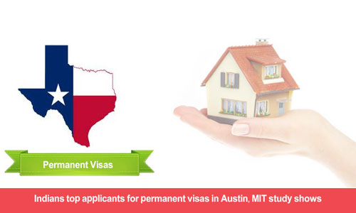 Indians have constituted approximately 50% of Austin permanent visa applications