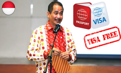 Indonesia includes South Africa in new visa exemption list