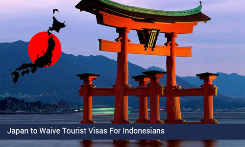 Indonesia to avail visa fee travel to Japan