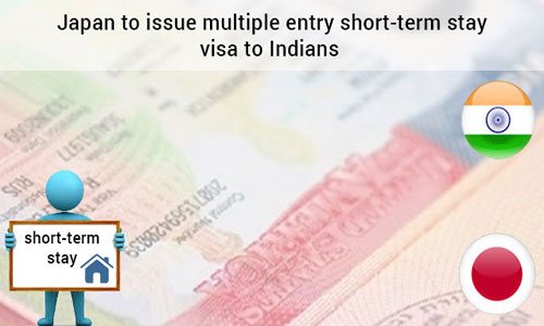 Japan announces multiple entry short-term stay visas to Indian nationals