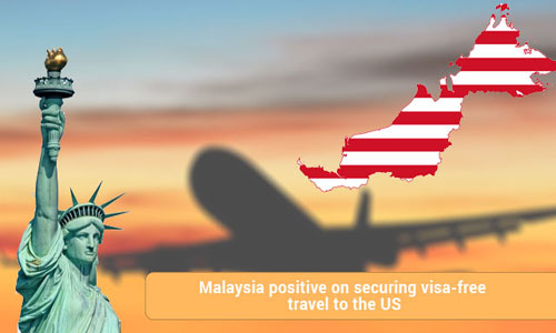 Malaysians enjoys visa free travel to US