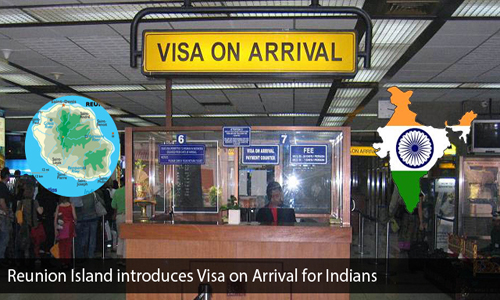 Reunion launches Visa on Arrival facility for Indians