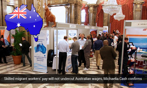 Wages for overseas Skilled Employees should not be less than Australian employees