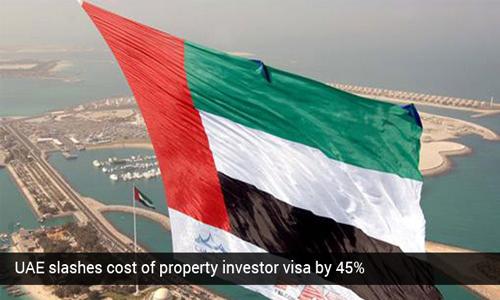 UAE decreases price of property investor visa by 45%