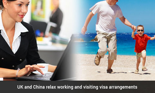 New visa rules announced by China and UK