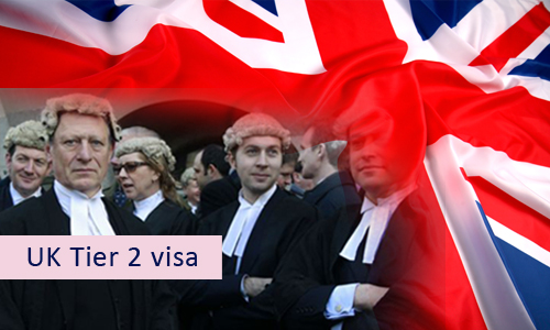 International law firms based in the UK are affected by the immigration rules of Tier 2 visa