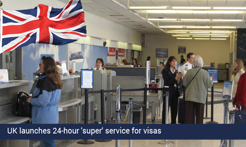 UK initiates 24-hour 'super' service for Chinese
