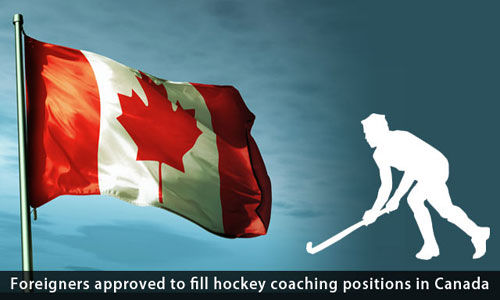 Canada approves LMO to fill the positions of hockey coaches