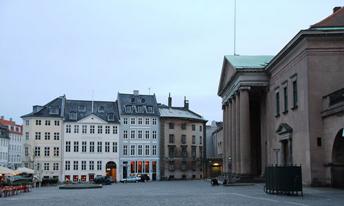 Copenhagen city plans to resist the effects of climatic changes in fu