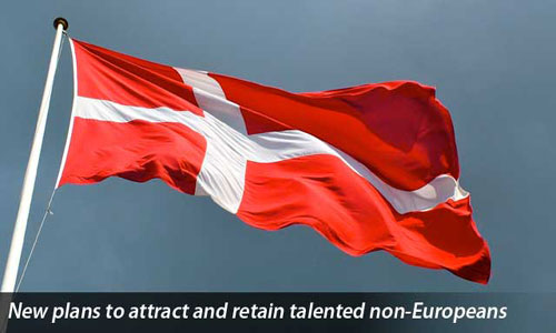 Danish government skilled individuals non-European countries