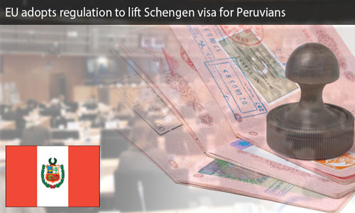 EU to allow visa-free entry to Peru's citizens