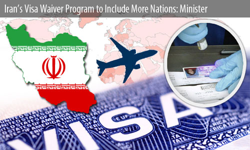 Iran extends visa waiver program to include more nations