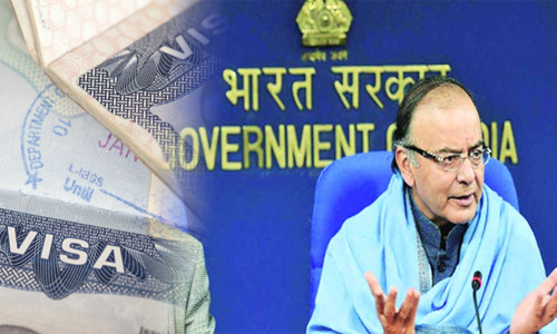Indian government to surge VoA facility to 150 countries: FM Jaitley