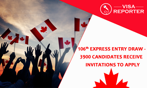 106th Express Entry Draw -3900 Candidates Receive Invitations To Apply