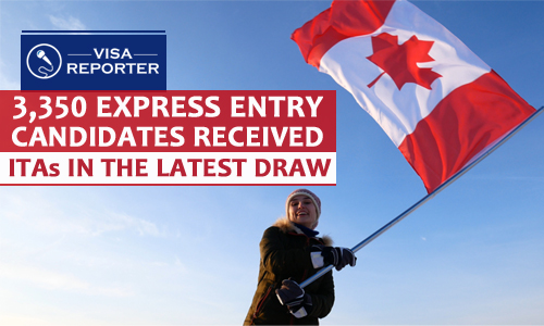 114th Express Entry Draw: 3,350 Candidates Received ITAs
