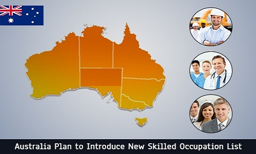 Australia Plan to Introduce New Skilled Occupation List