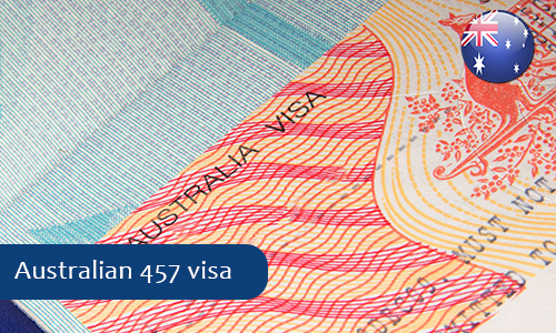 Australia announced changes in its student visa and 457 visa programs
