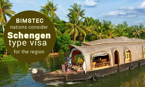 BIMSTEC Nations consider Schengen Type visa for their regions