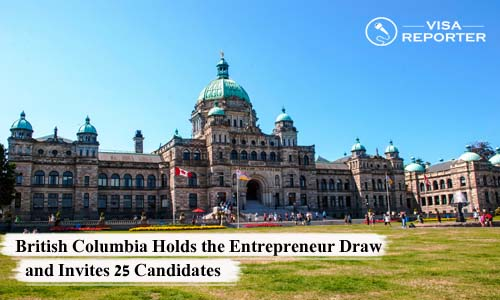 British Columbia Holds the Entrepreneur Draw & Invites 25 Candidates