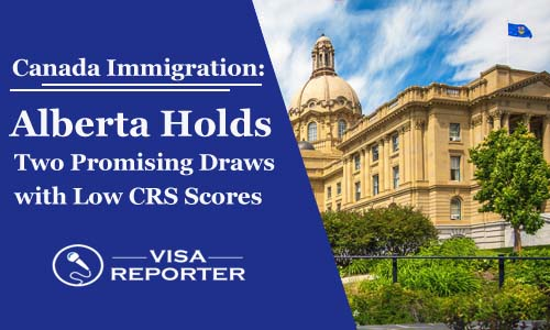 Canada Immigration - Alberta Holds Two Promising Draws with Low CRS Scores