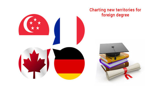 New foreign destinations are now the choice of Indian students