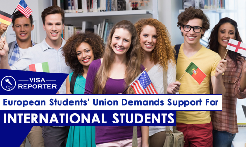 European Students Union: demands support for international students