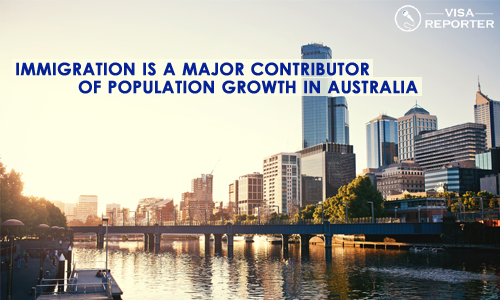 Immigration is a Major Contributor of Population Growth in Australia