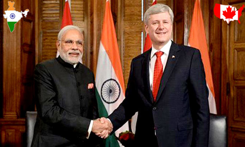 Indian government announced a ten year liberalized visa policy for Canadians