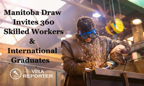 Manitoba Draw Invites 360 Skilled Workers and International Graduates