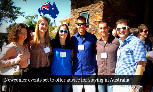 Events for newcomers in Australia set to aid them to stay in the country