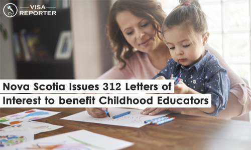 Nova Scotia Issues 312 Letters of Interest to Benefit Childhood Educators