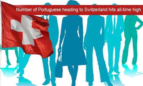 High number of Portuguese nationals enter Switzerland