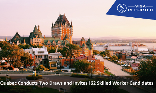 Quebec Conducts Two Draws and Invites 162 Skilled Worker Candidates
