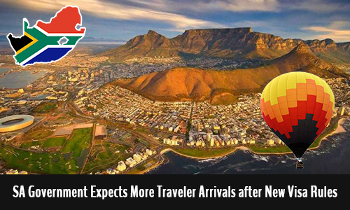 SA Government Expects More Traveler Arrivals after New Visa Rules.