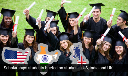 Students of Muscat informed on studies in India, USA and UK