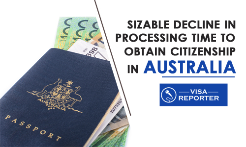 Sizable Decline in Processing Time to Obtain Citizenship in Australia